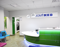 DOM MED - Wayfinding and Facility Redesign
