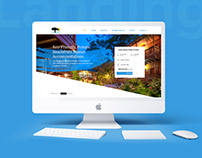 Resort Landing Page Design
