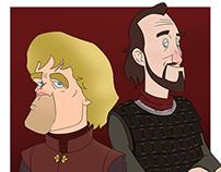 GoT - Tyrion & Bronn