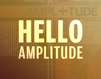 Hello Amplitude | Typography