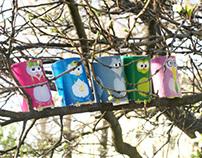Birds of toilet paper