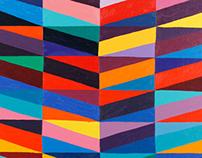 """Ribbons, 2012. oil on linen. 27"""" x 23"""""""