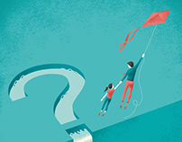 Editorial illustrations for Real Simple