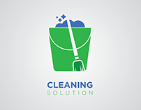 Logo Design Cleaning Solution