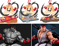 Ryu Statue From Start to Finish