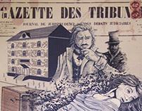 the Murders in the Rue Morgue - Newspaper