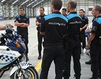 Corporate identity Galicia Local Police