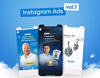Set#1 of Instagram Ads