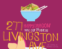 Branding Samples, Happy Dragon