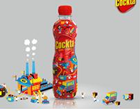 Cockta soft drink special edition sleeve design