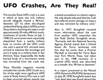 UFO Crashes, Are They Real?