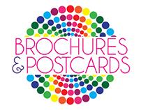 BROCHURES & POSTCARDS