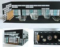 Courtyard Interactive Installation