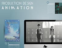 Infografic - Production Design Animation