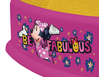 Product Design for Minnie Mouse Potty Seats