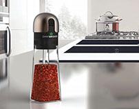 Self-scaling Spice Grinder