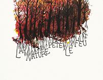 La nature pète le feu | Illustration/peinture
