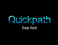 QUICKPATH - FREE MODERN FONT