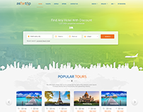 Hotel search website design