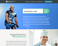 Florida Hospital East Orlando - Ortho Landing Page
