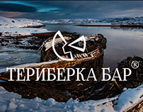 "Presentation of the logo ""Териберка Бар"""