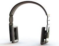 Technics DJ-1200mk2 headphones concept