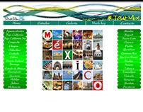 """Sitio web, """"Tour-Mex"""""""