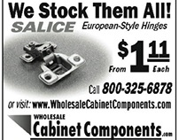 Wholesale Cabinet Components Print Ad Fine Woodworking