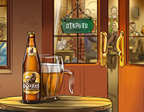 A beer storyboard