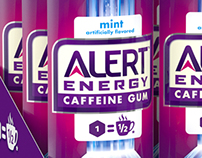 3D Alert Energy Gum