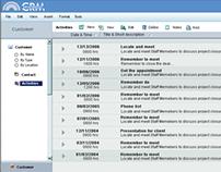 WebCRM - Interaction Flow/MockUps (2007)