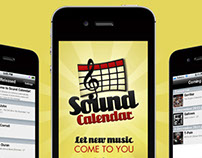 Sound Calendar App & Website