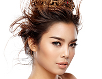 Miss World Thailand 2015 Contestant Portraits