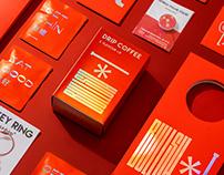 BULLSH*T DRIP COFFEE PACKAGE 红包挂耳咖啡·新年礼盒装   包装设计