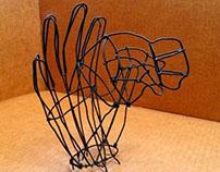 Escultura Bisonte