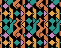 pattern: melaine