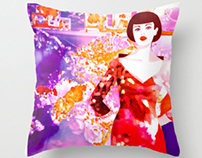 TEXTILE DESIGN-CUSHION COVERS