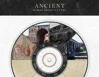 Ancient Roman Architecture App Concept