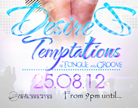 Desired Temptations Flyer Design