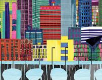 Architecture, Minneapolis and San Francisco