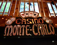 Sign for Casino-themed Murder Mystery