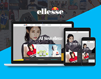 Ellesse Website Korea