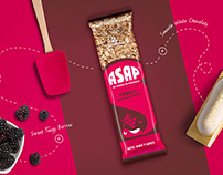 Granola Bar - Packaging Design