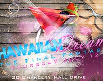 Hawaiian Dreams Flyer Design