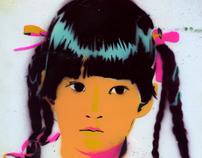 Self Portrait, Age five