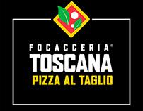Diseño Nuevo Logotipo Focaccería Toscana Barcelona
