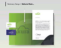 Sakura Host - Visual Identity Design