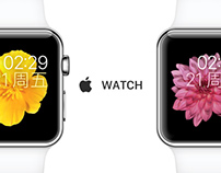 Apple Watch Chinese introduction page optimize design