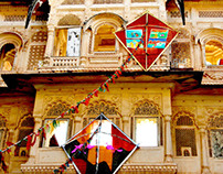 Art Installation at Mehrangarh Fort, Jodhpur, Rajasthan