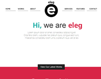ELEG - Unique Multi-Color Responsive HTML5 Theme